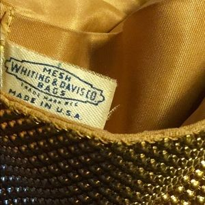 Vintage Whiting and Davis bag